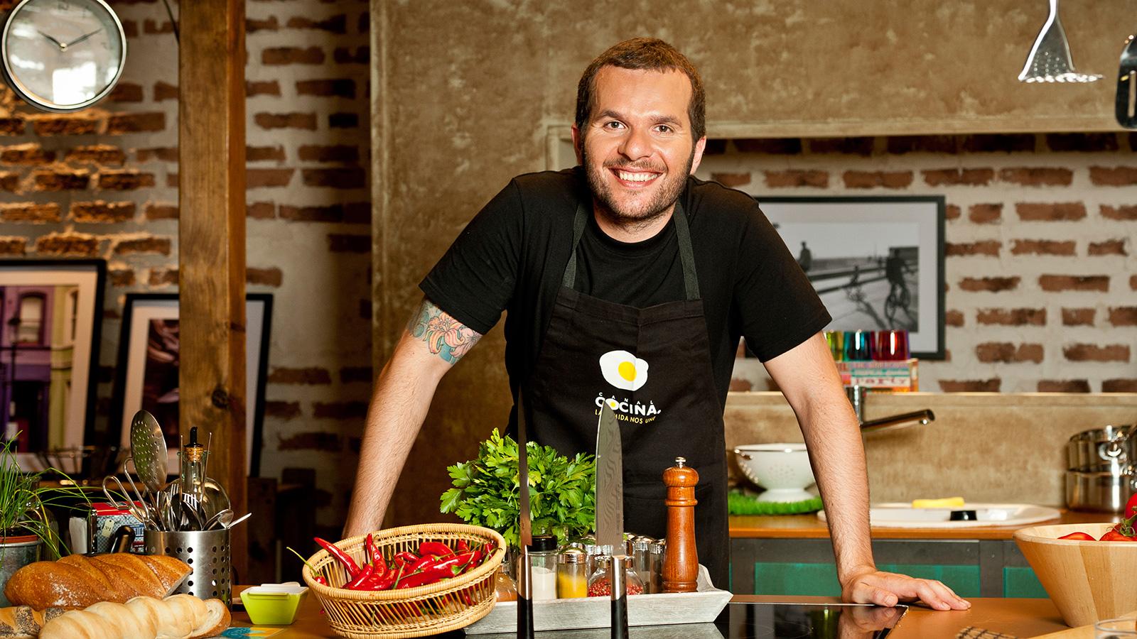 Nicola poltronieri cocineros canal cocina for Canal cocina cocina de familia