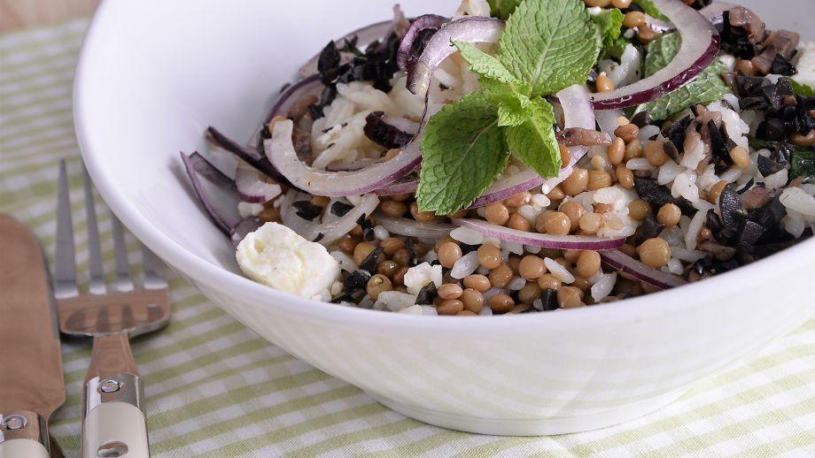 Timbal de lentejas con arroz julius julio bienert - Platos sencillos y sanos ...