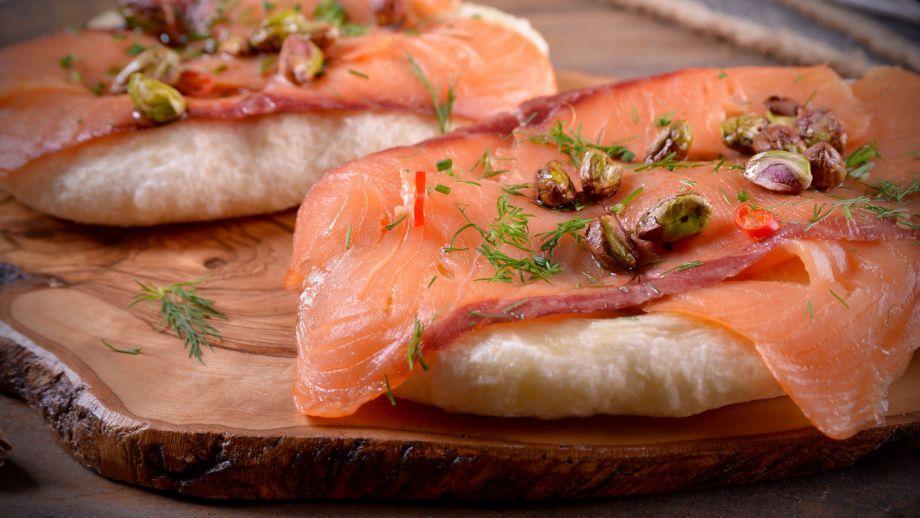Resultado de imagen para cocinando salmón ahumado