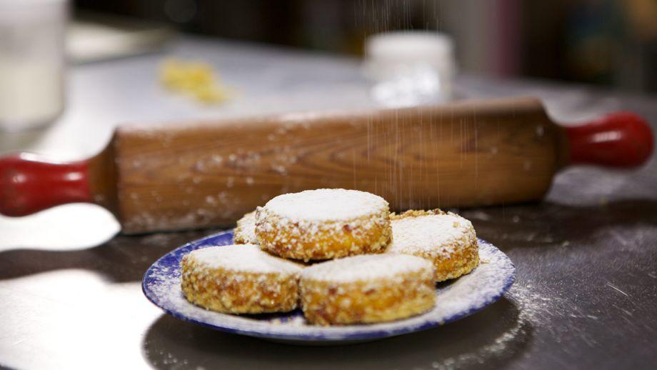 Galletas de pralin y crema praline custard biscuits - Canal cocina thermomix ...