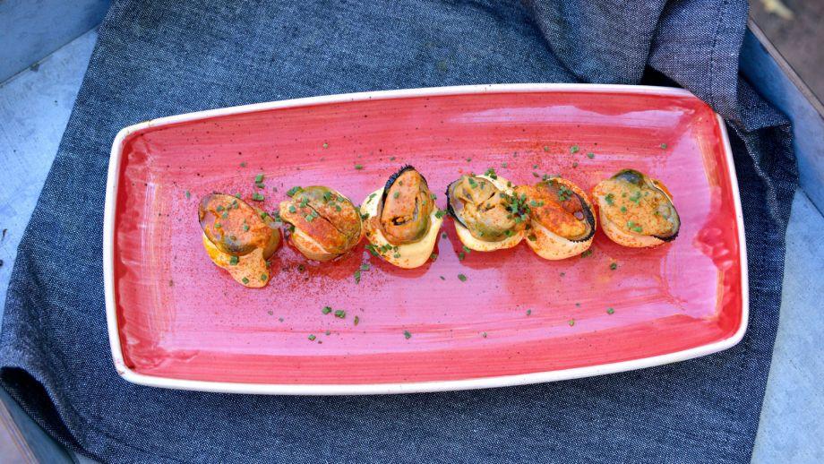 Mejillones con patatitas y alioli del escabeche pablo for Canal cocina tapas