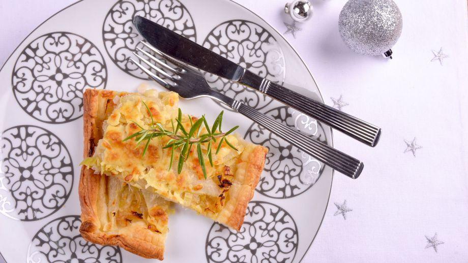 Hojaldre de puerro pera y parmesano elena aymerich for Canal cocina cocina de familia