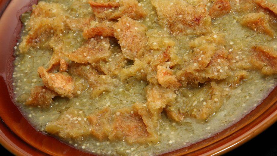 Chicharrón en salsa verde - Rita Sánchez - Receta - Canal Cocina