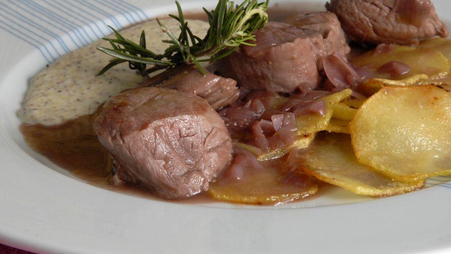 Solomillo De Cerdo Con Salsa De Vino Y Espuma De Mostaza 22 Minutos Ep 124