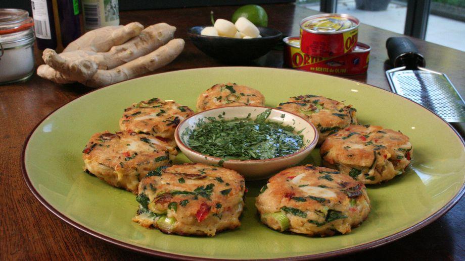 Pastelitos de at n y especias spicy tuna fish cakes - Comida para sorprender ...