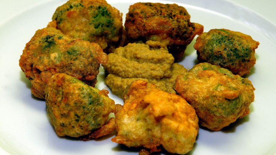 Recetas De Cocina Con Brocoli | Flores De Brocoli Rebozadas Con Tapenade Juan Pozuelo Receta