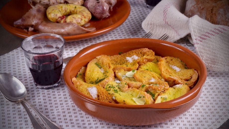 Sopa dorada con relleno de carnaval hermana mar a jos receta canal cocina - Divinos pucheros maria jose ...