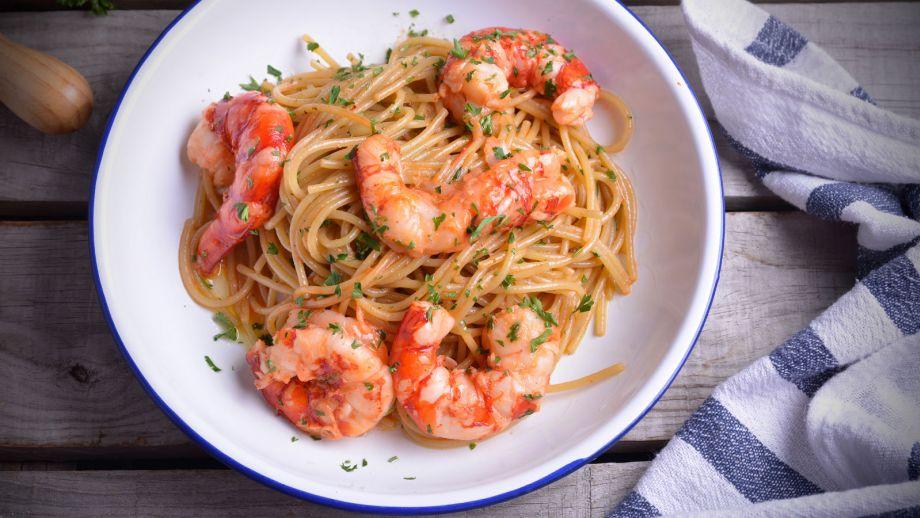 Como Cocinar Espaguetis | Espaguetis Con Carabineros Nicola Poltronieri Receta Canal Cocina