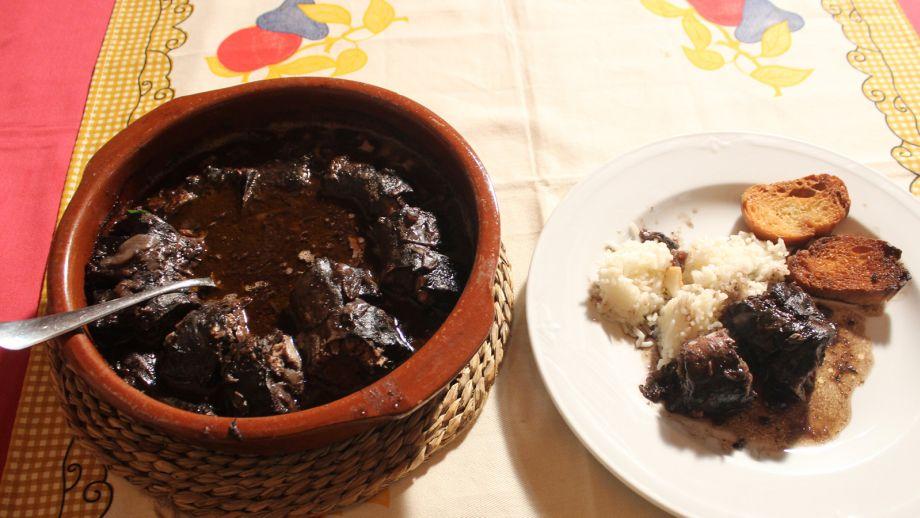 Lamprea a la bordalesa con arroz blanco canal cocina - Comidas con arroz blanco ...