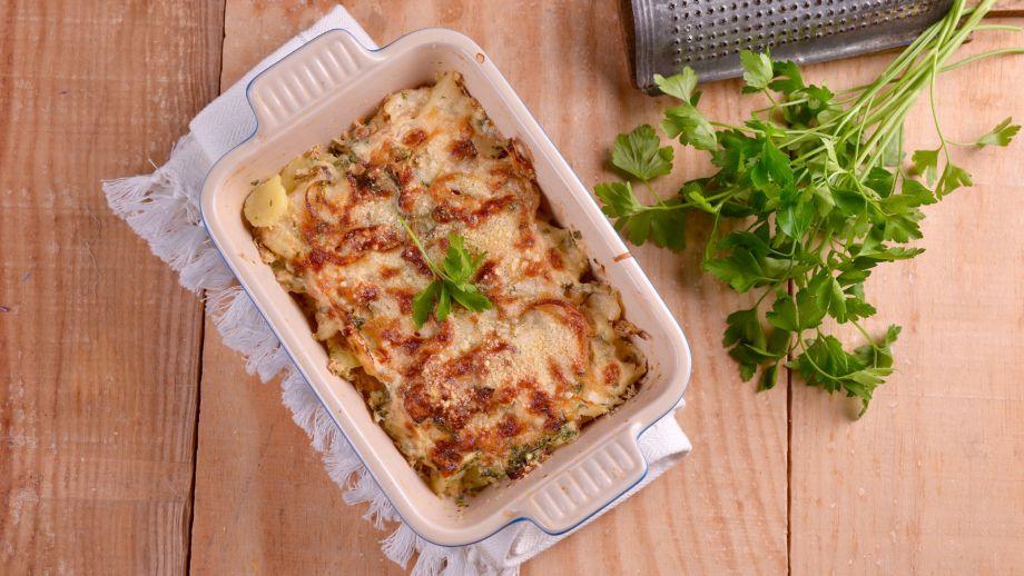 Pastel de bacalao con patatas elena aymerich receta for Cocina bacalao con patatas