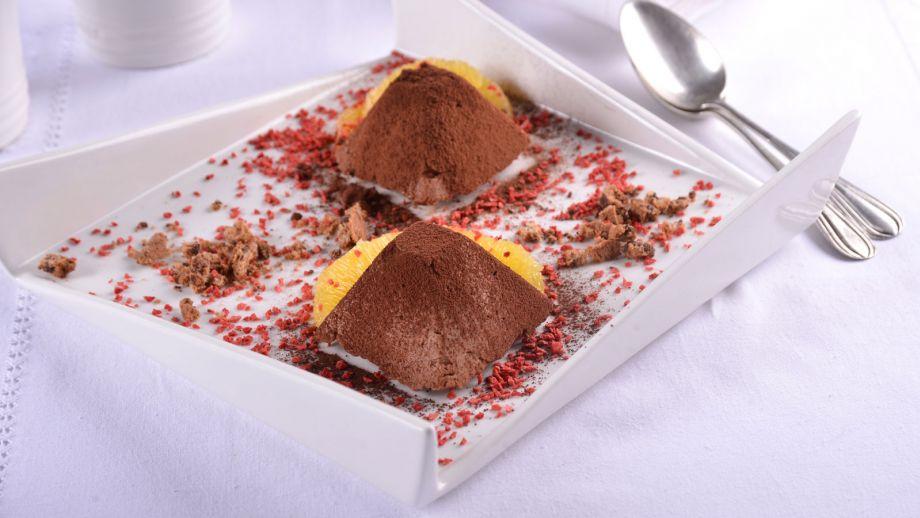 Pir mides de chocolate crujiente elena aymerich receta for Canal cocina cocina de familia