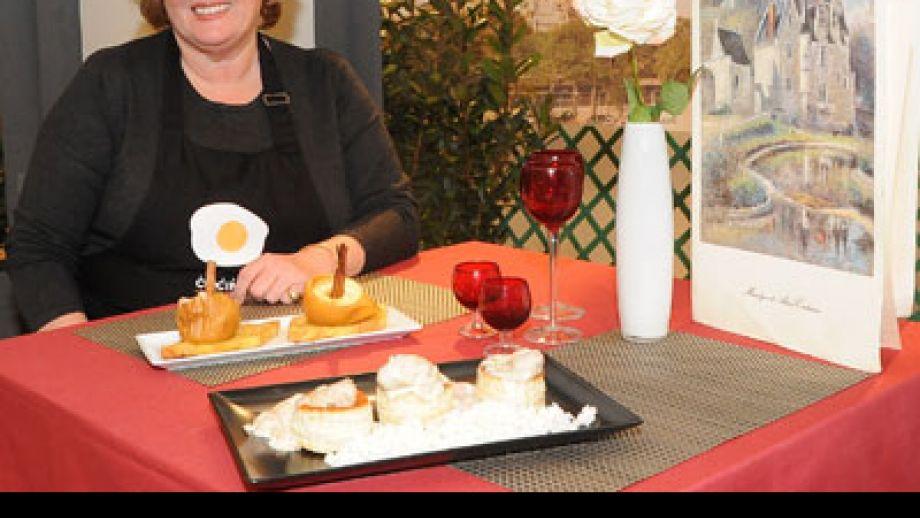 entrevista a evelyne ramelet presentadora de cocina