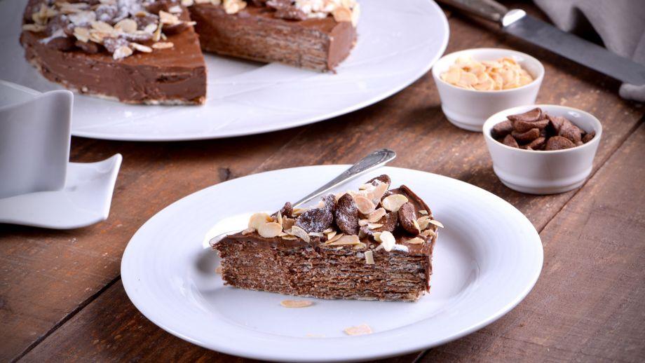 Tarta De Chocolate Y Barquillo Cocinamos Contigo T7 Ep 753