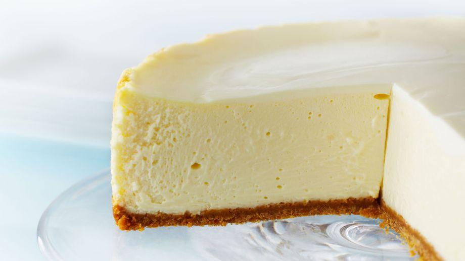 Tarta de queso clásica estilo Nueva York (Classic New York ...