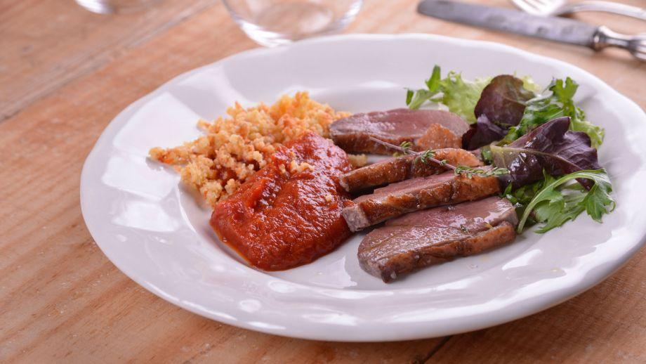 Magret de pato en costra de sal elena aymerich receta for Canal cocina cocina de familia