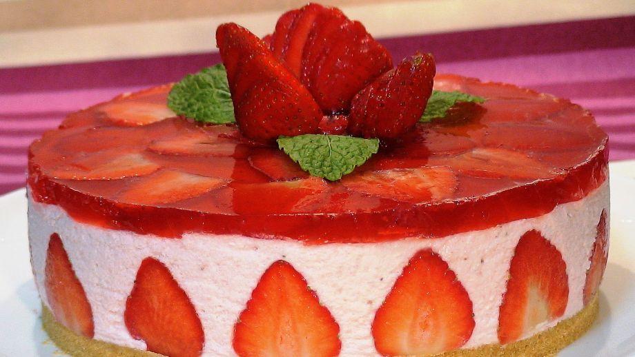 Cocinando Con Loli | Tarta De Fresas De Loli Dominguez Loli Dominguez Receta Canal