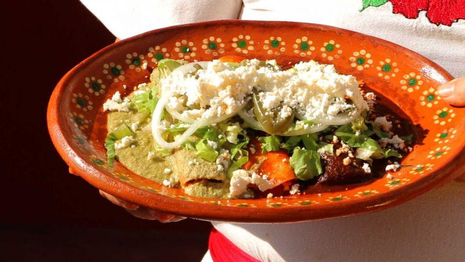 Enchilada tres mar as canal cocina receta canal cocina for Canal cocina mexicana