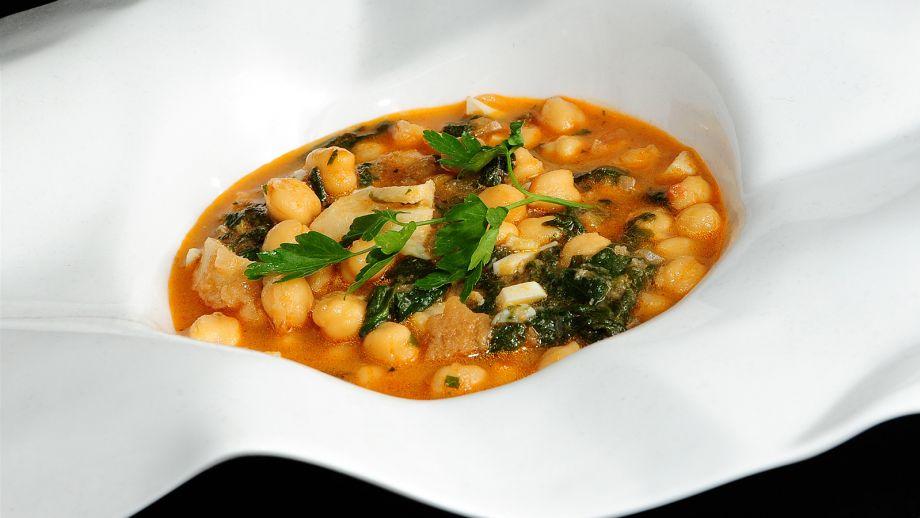 Potaje de garbanzos con bacalao koldo royo receta - Potaje de garbanzos con bacalao ...