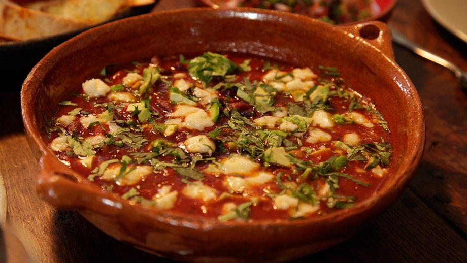 Sopa picante mexicana spicy mexican soup gordon ramsay for Canal cocina mexicana