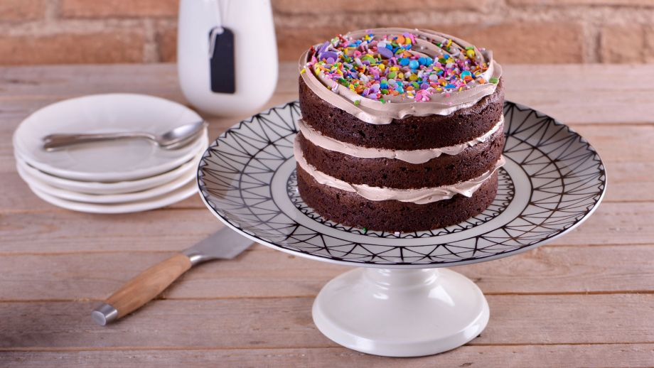 Tarta de chocolate y avellanas alma obreg n receta canal cocina - Canal cocina alma obregon ...