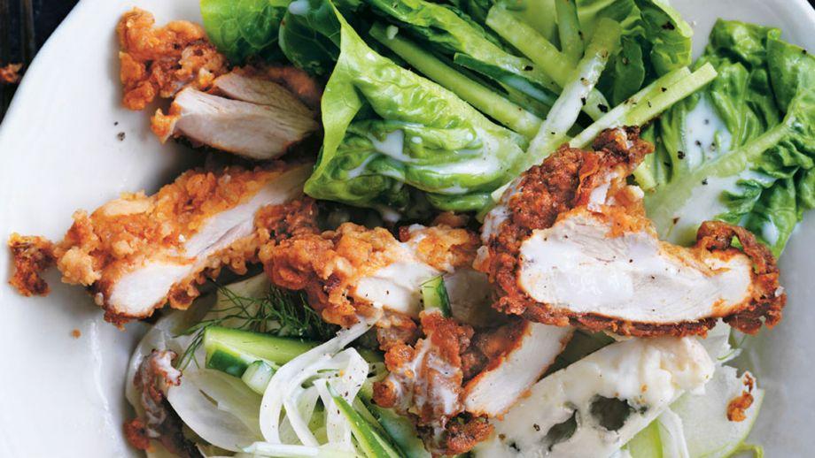 Receta Cocina Facil | Pollo Frito Con Suero De Mantequilla Buttermilk Fried Chicken