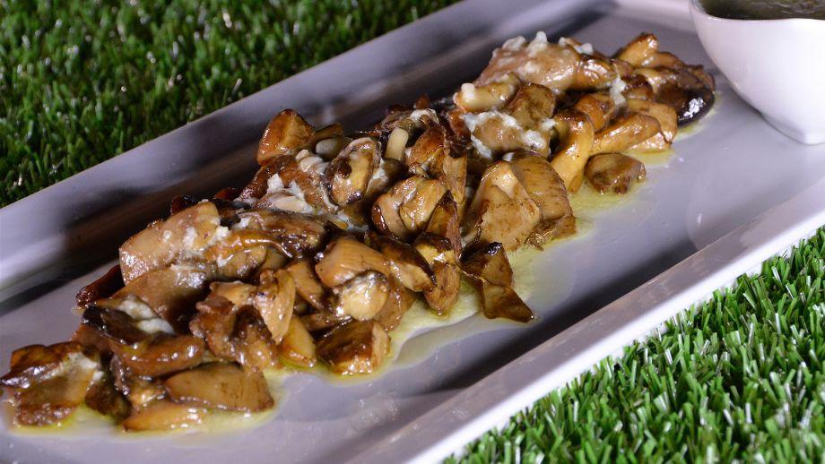 Como Se Cocinan Los Boletus | Boletus A La Brasa Con Aroma De Nueces De Pecan Con Salsa De