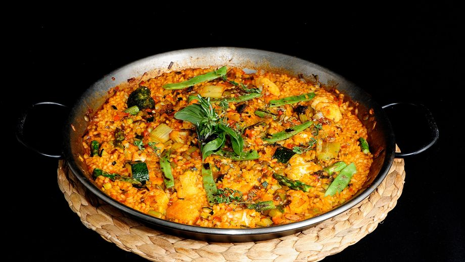 arroz de verduritas azafranado chema de isidro v zquez