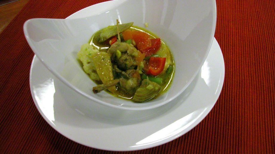 Verduras a la griega - Salvador Gallego - Receta - Canal Cocina