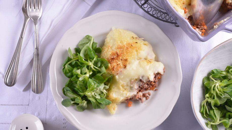 Gratinado de patatas y ternera elena aymerich receta - Gratinado de patata ...