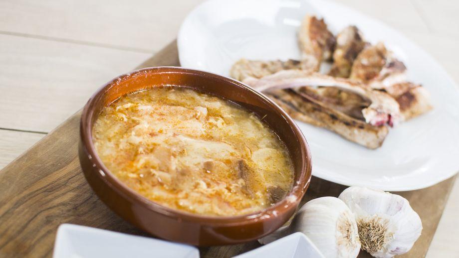 Sopa castellana bego a tormo receta canal cocina - Sopa castellana casera ...