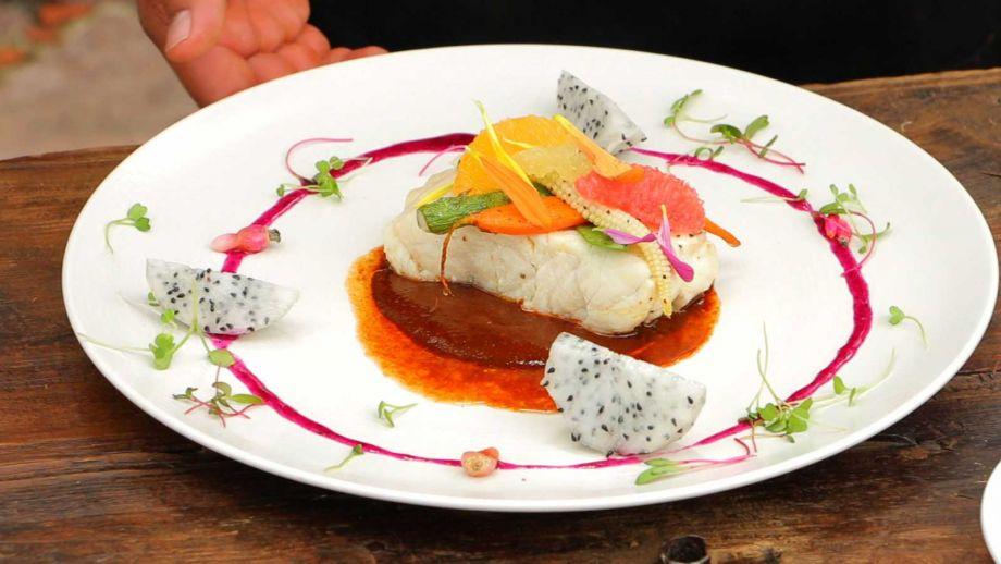 R balo en molde de c tricos david quevedo receta for Cocina vanguardia definicion