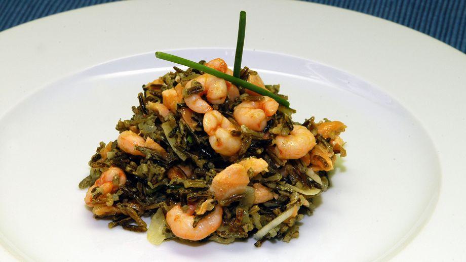 Ensalada de arroz salvaje juan pozuelo receta canal - Ensalada de arroz light ...
