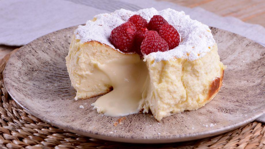 Tarta De Queso Con Frambuesas Y Azúcar Glas Sabor De Hogar Ep 20