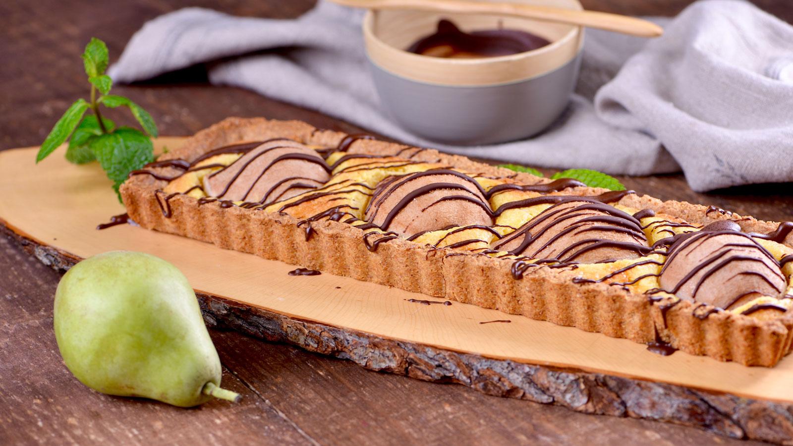 Tarta De Peras Y Chocolate Caliente Amanda Laporte