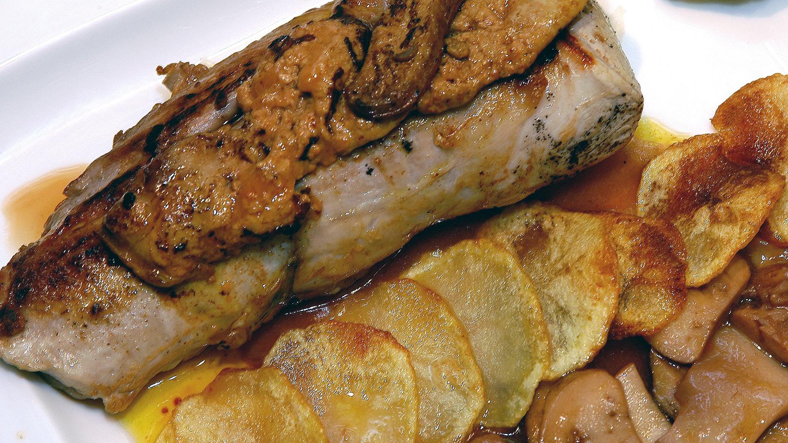 Como Cocinar Boletus Frescos | Solomillo De Cerdo Con Foie Y Salsa De Boletus Edulis Inaki