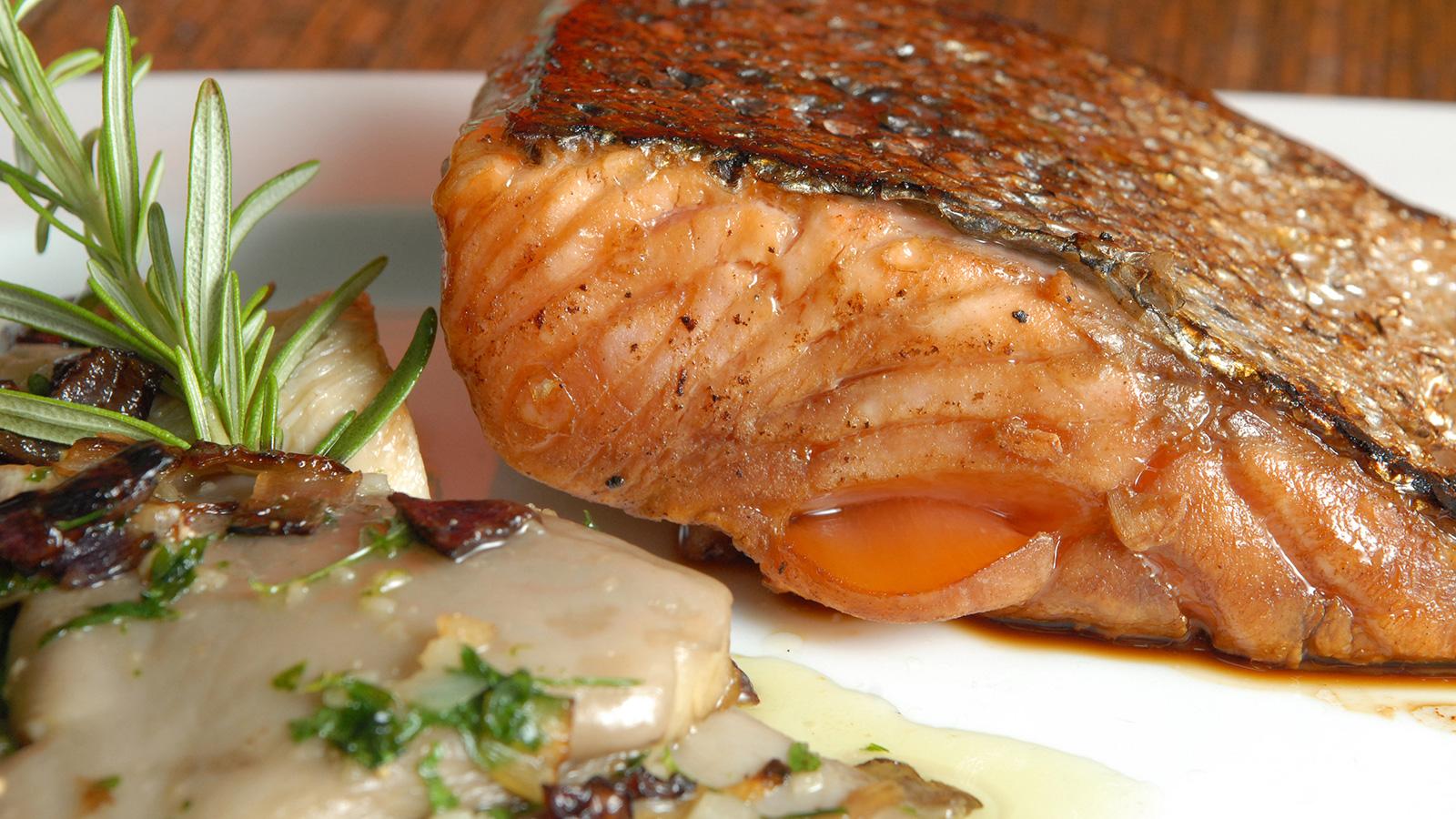 salmon soja