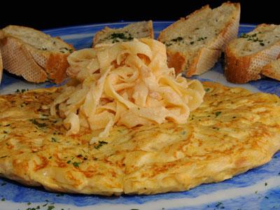 Pastel de espaguetis carbonara diana cabrera receta canal cocina - Diana cabrera canal cocina ...