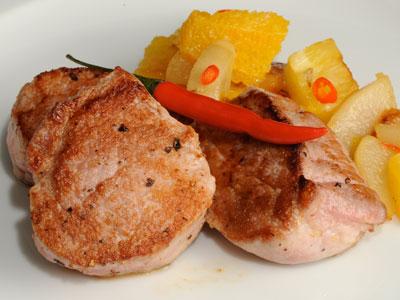 Solomillo de cerdo con frutas picantes diana cabrera receta canal cocina - Diana cabrera canal cocina ...
