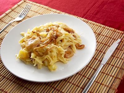 Alplermagronen con manzana con thermomix teresa - Canal cocina thermomix ...