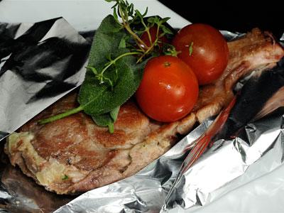 Chuletas rellenas de jam n y queso diana cabrera for Diana cabrera canal cocina