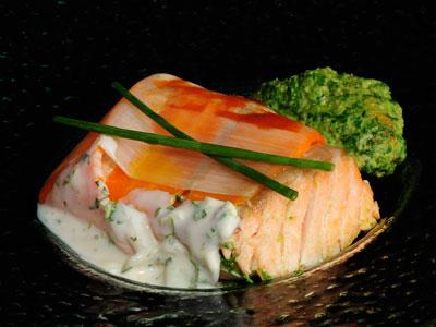 Lomos de salm n con gambas y salsa americana diana for Diana cabrera canal cocina