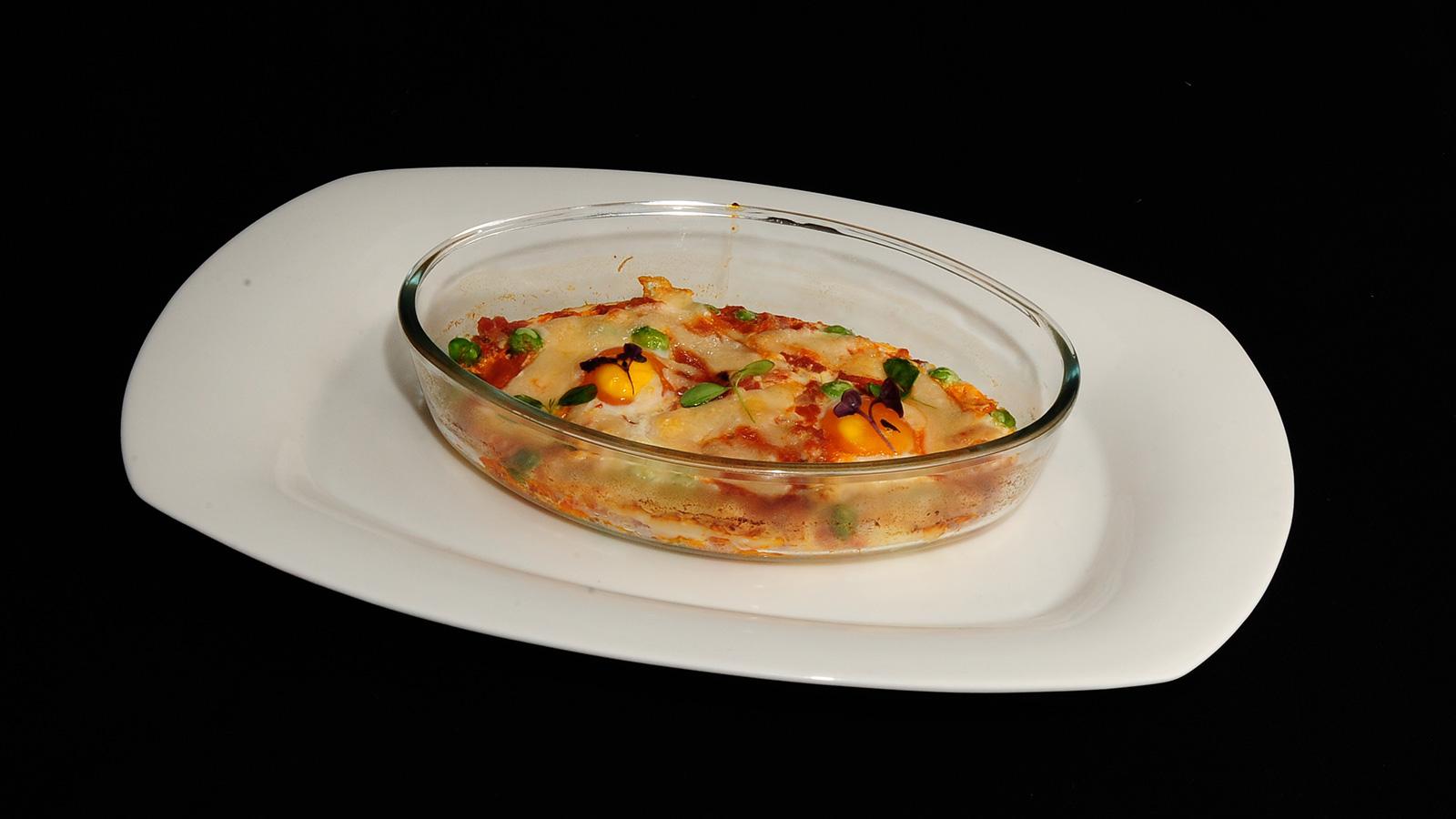 Huevos a la flamenca sergio fern ndez receta canal for Canal cocina sergio fernandez