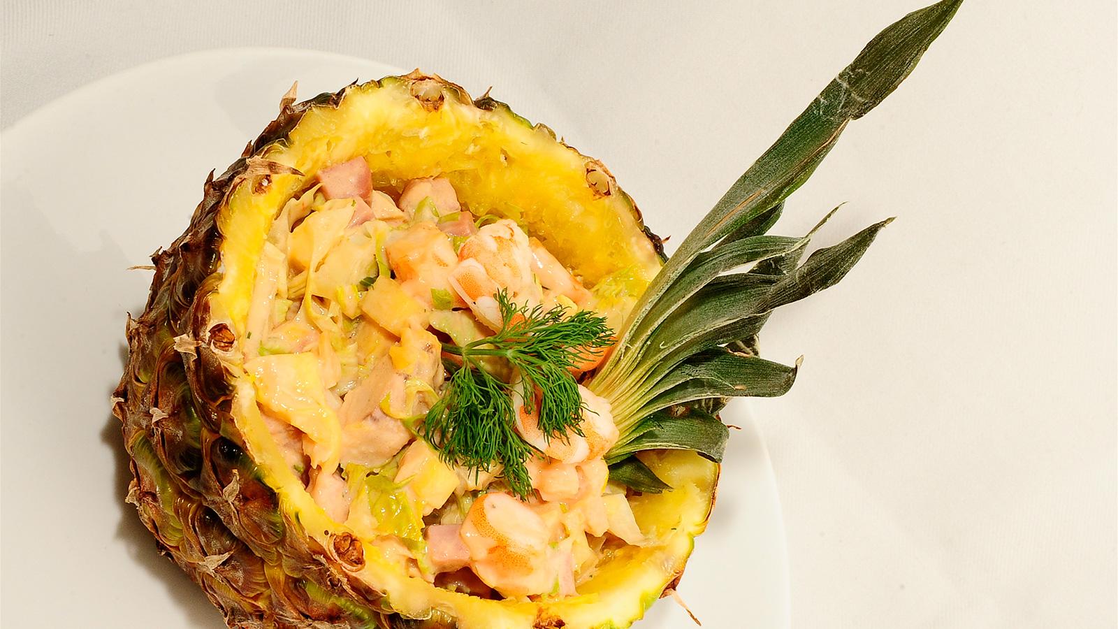 C ctel de marisco sergio fern ndez receta canal cocina - Coctel de marisco ingredientes ...