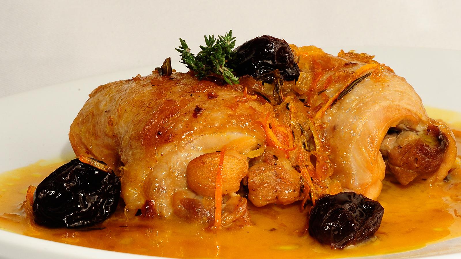 Pollo A La Naranja Sergio Fernández Receta Canal Cocina