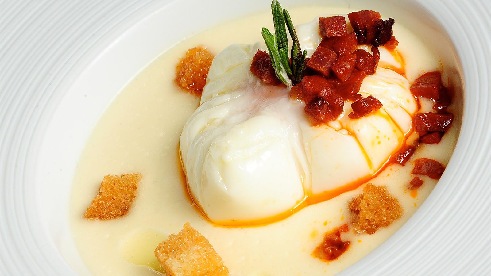 crema de huevo