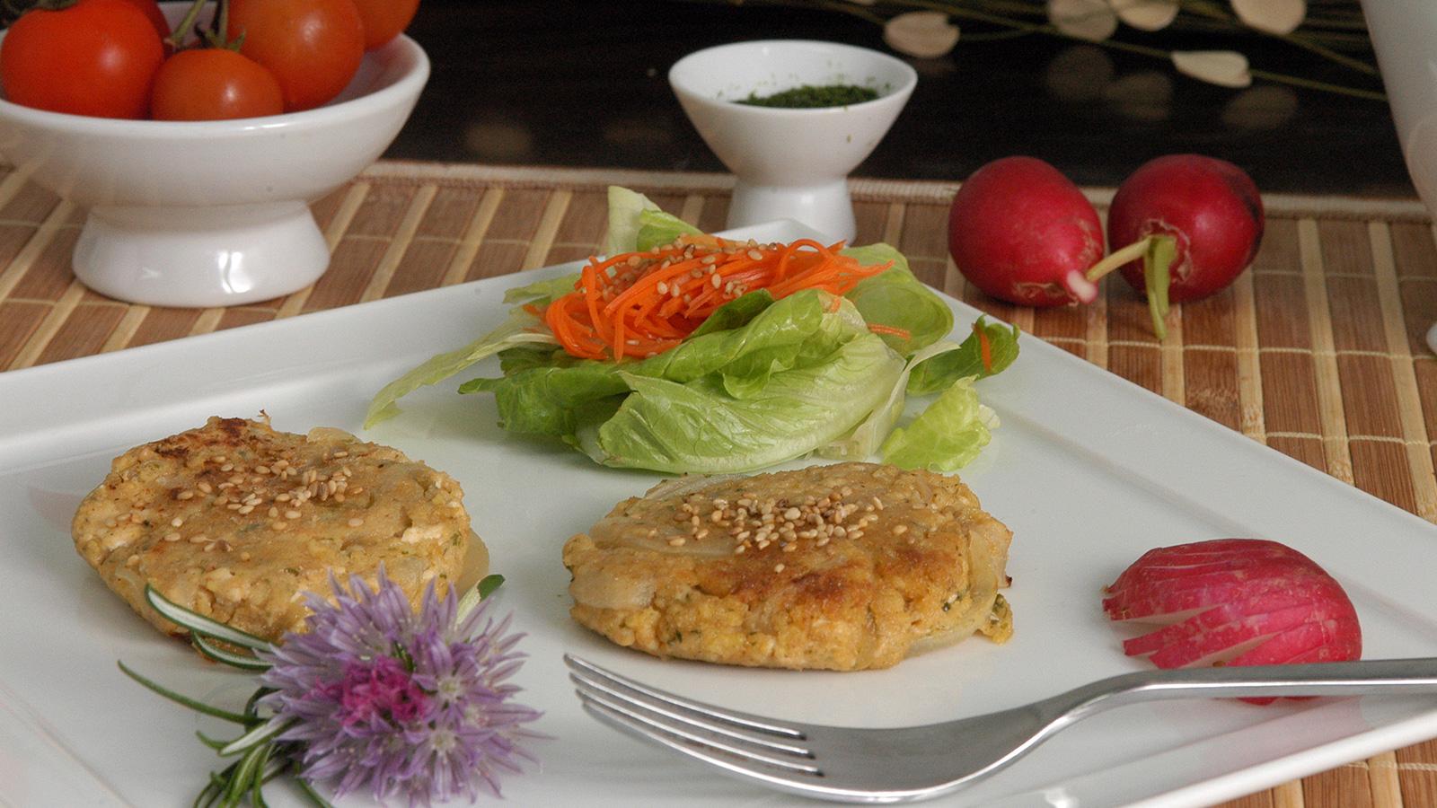 hamburguesas vegetales marisa fern ndez receta canal