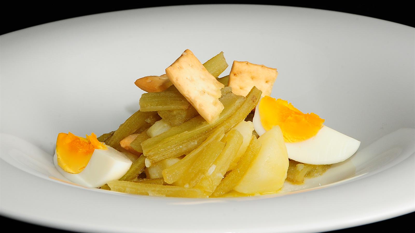 Borraja Con Patatas Y Huevo Duro Cocinamos Contigo Ep 344