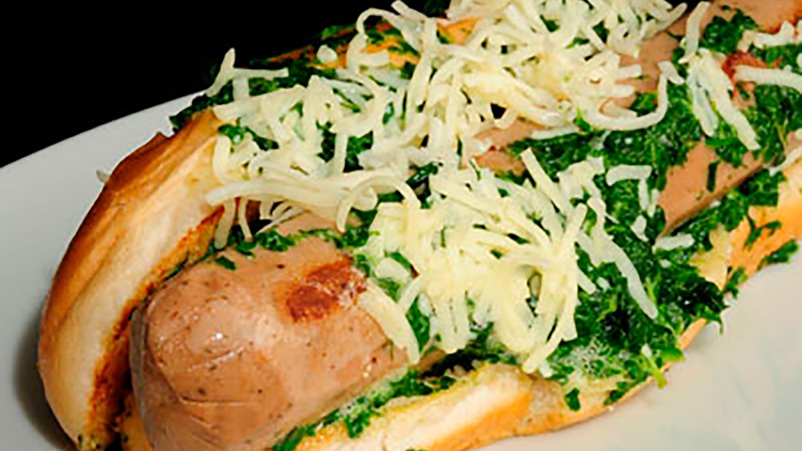 Perrito de espinacas y salchichas alemanas diana cabrera receta canal cocina - Diana cabrera canal cocina ...