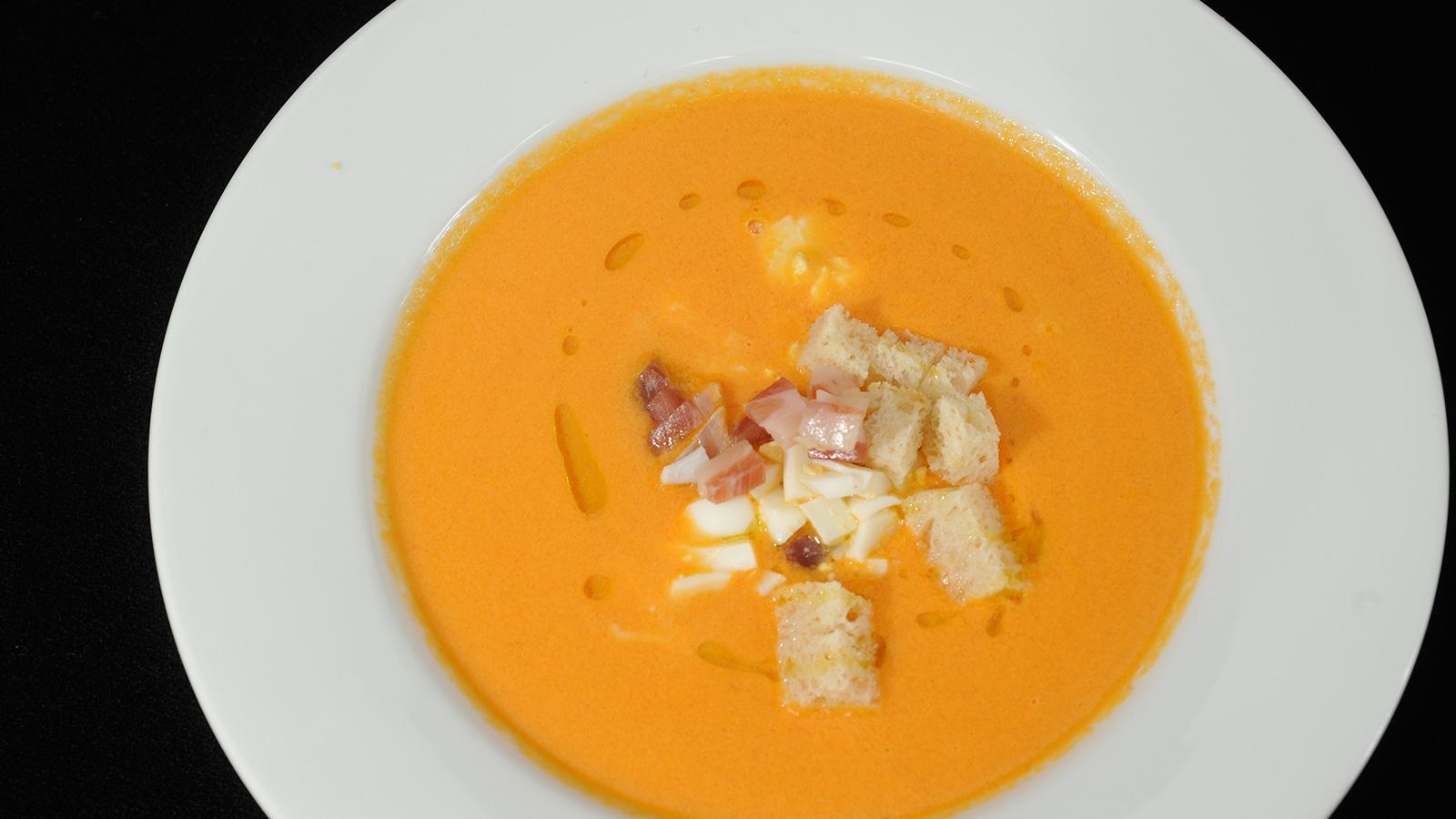 Salmorejo de zanahoria diana cabrera receta canal cocina for Diana cabrera canal cocina