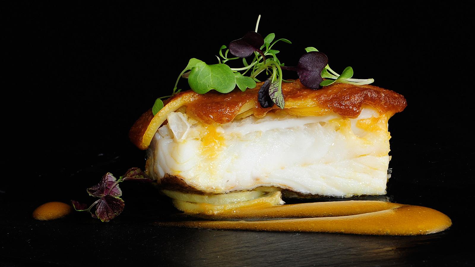 Bacalao con patata y mahonesa sergio fern ndez receta for Canal cocina sergio fernandez